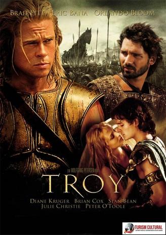 Afisul filmului Troia (Troy) 2004