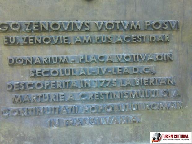 Biertan donarium (explicatia in limba romana)