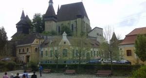 Biserica fortificata Biertan vedere generala
