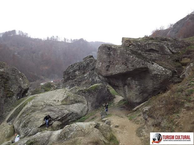 Manastirea Cetatuia Negru Voda stanci Mica Meteora