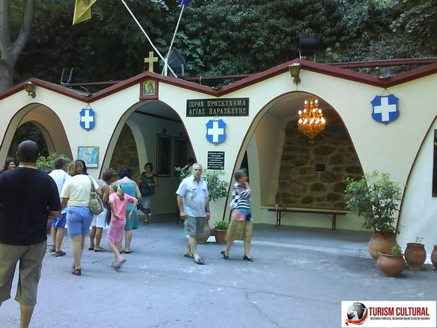 Grecia manastirea Sf Parascheva (aflata in Valea Tempi)