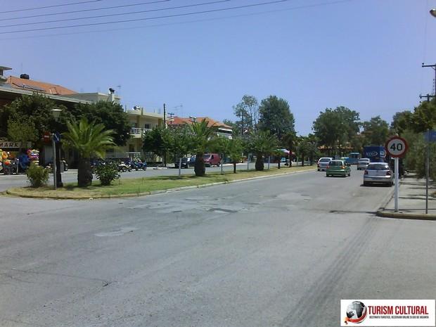 Grecia Nei Pori strada principala