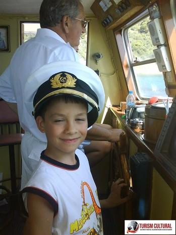Grecia insula Skiathos pe vapor micutul capitan Andrei