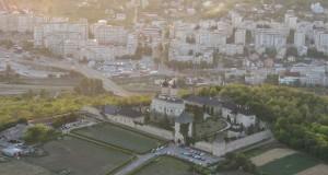 Iasi Manastirea Cetatuia vedere aeriana