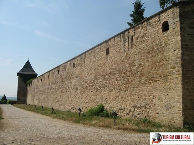 Iasi Cetatuia ziduri exterioare