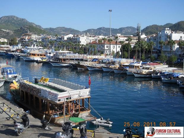 Marina din statiunea Marmaris