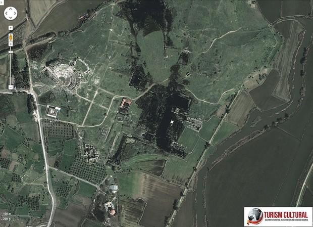 Milet captura facuta cu Google Maps