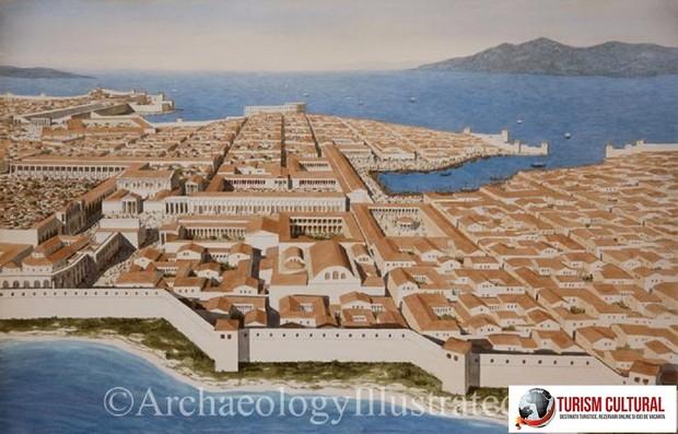 Milet reconstituirea orasului antic