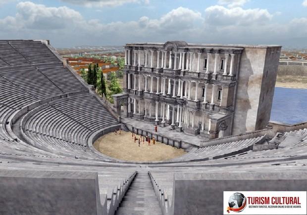 Milet reconstituirea teatrului cu ajutorul computerului