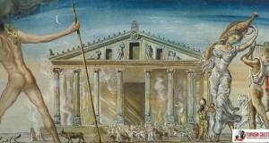Salvator Dali Templul Dianei din Efes