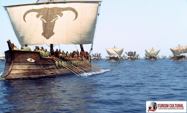 Trireme grecesti (filmul Troy 2004)
