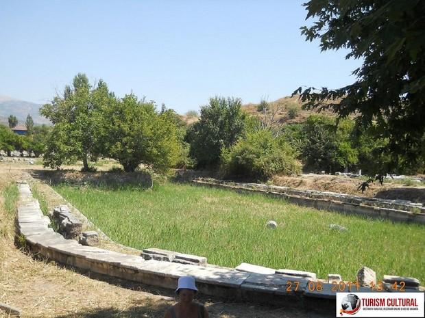 Turcia Aphrodisia Agora de Sud bazinul cu apa