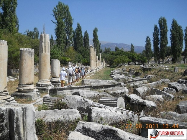 Turcia Aphrodisia coloanele Agorei de Sud