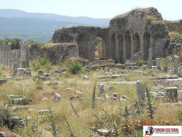 Turcia Aphrodisia ruinele bailor teatrului