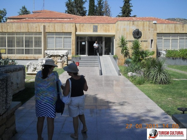 Turcia Aphrodisia intrarea in muzeu