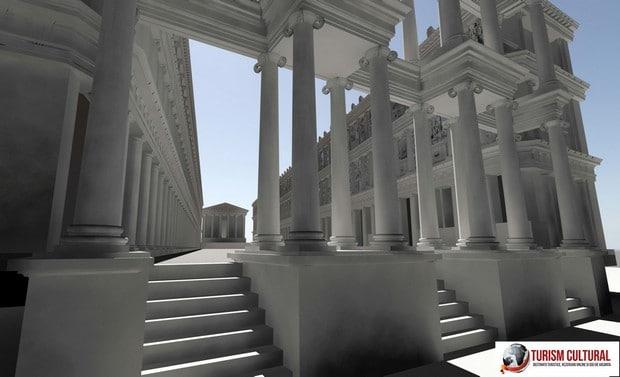 Reconstituirea Sebasteionului din Aphrodisia (Turcia)