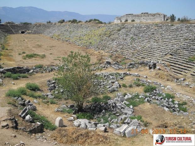 Turcia Aphrodisia stadionul cel mai bine conservat din lumea antica