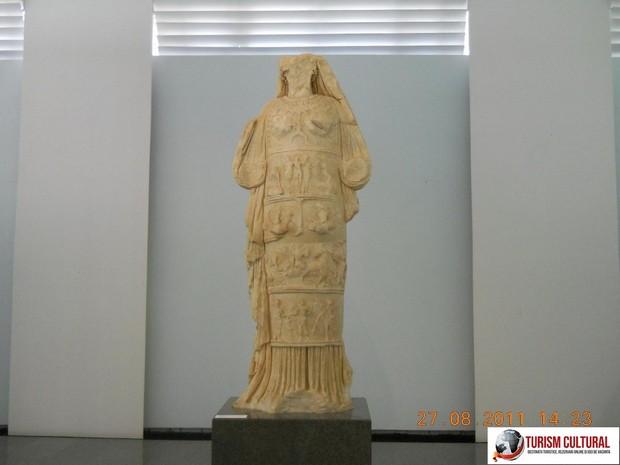 Turcia Aphrodisia Statuia Afroditei aflata in muzeu