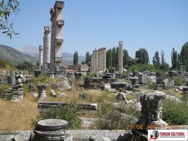 Turcia Aphrodisia Templul Afroditei