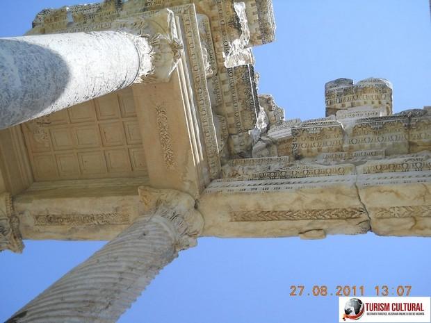 Turcia Aphrodisia detaliu Tetrapylon