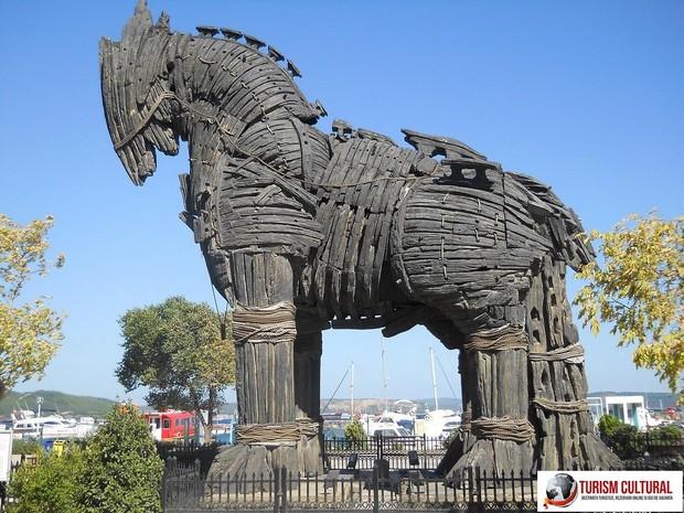 Turcia Canakkale Calul Troian (donat de producatorii filmului Troy 2004)