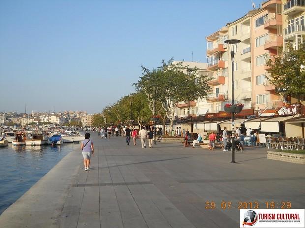 Turcia faleza din Canakkale