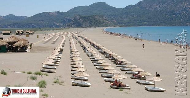 Turcia delta Dalyan plaja Iztuzu Beach
