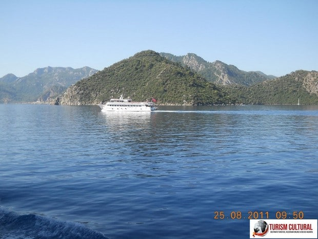 Turcia delta Dalyan si vasul Orca