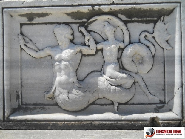 Turcia Didyma oracolul lui Apollo fragment de friza