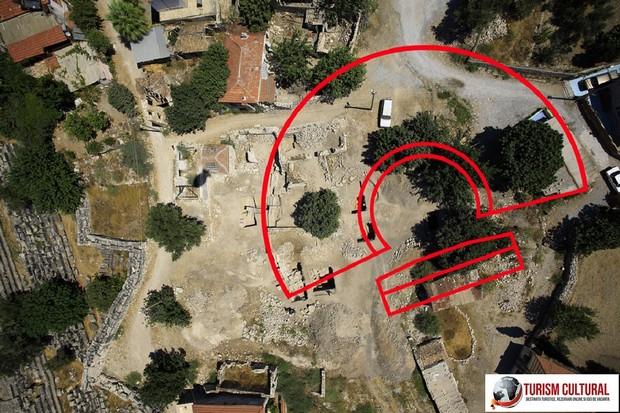 Turcia Didyma oracolul lui Apollo teatrul antic