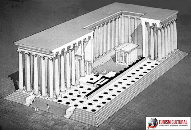 Turcia Didyma macheta Templului lui Apollo