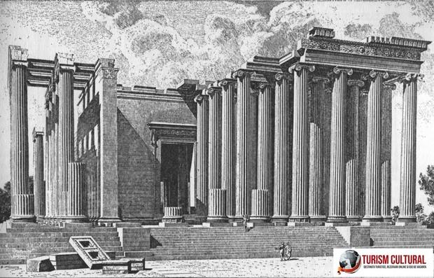 Turcia Didyma Templul lui Apollo reconstituire