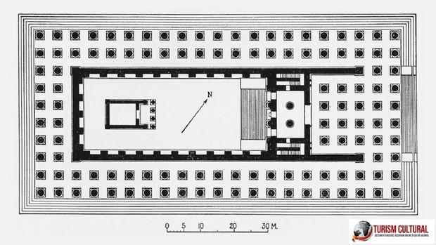 Turcia Didyma templul lui Apollo schita templului