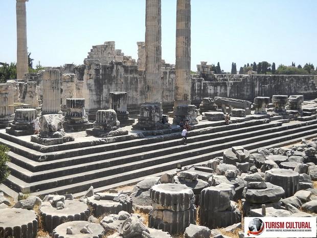 Turcia Didyma Templul lui Apollo vedere laterala