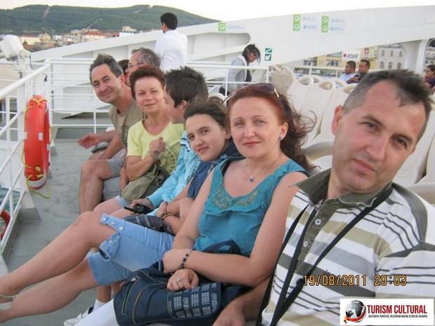 Turcia Eceabat grupul nostru pe feribot (fara Florione)