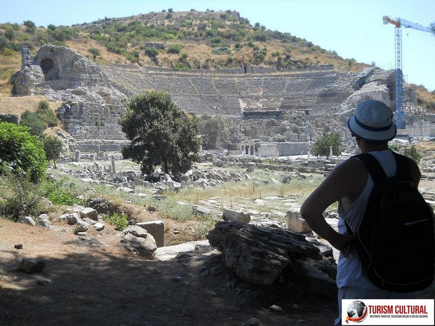 Turcia Efes amfiteatrul (privire de ansamblu)