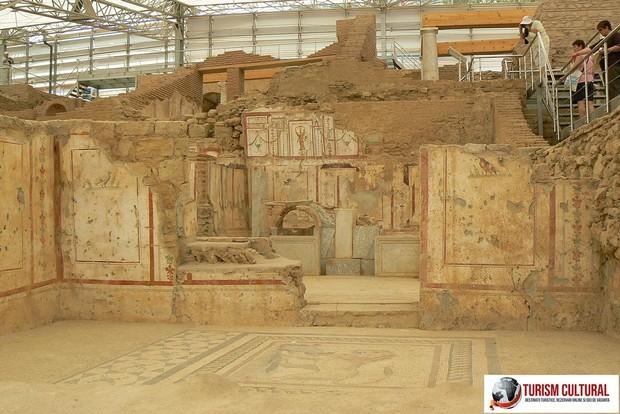 Turcia Efes casele bogatilor de pe deal