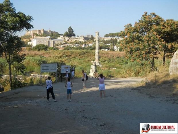 Turcia Efes templul Artemisei la intrare