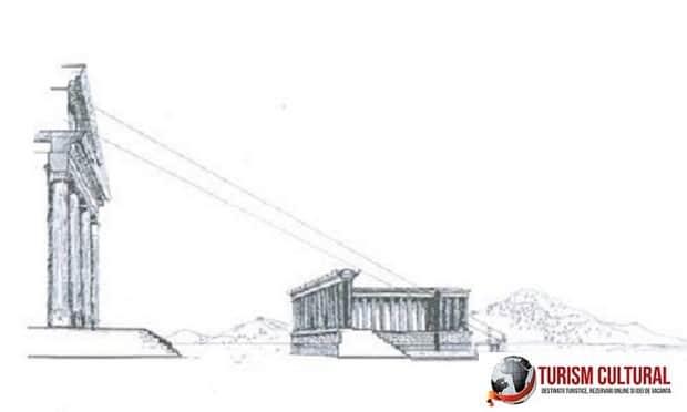Turcia Efes Templul Artemisei altarul de unde se oficiau jertfele