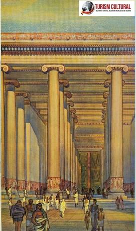 Turcia Efes templul Artemisei padurea de coloane