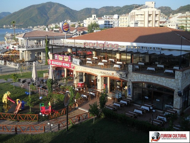 Turcia Marmaris Burger King (langa Yunus Hotel)