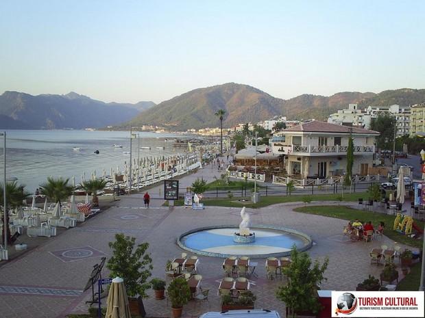 Turcia Marmaris aleea plajei (promenada)
