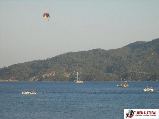 Turcia Marmaris parasailing (dimineata)