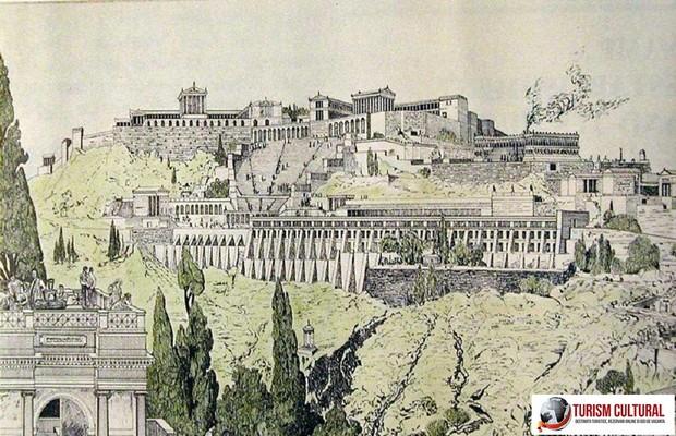 Turcia Pergam reconstituire (pictura)