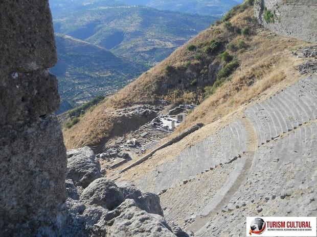 Turcia Pergam amfiteatrul