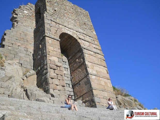 Turcia Pergam templul Atenei