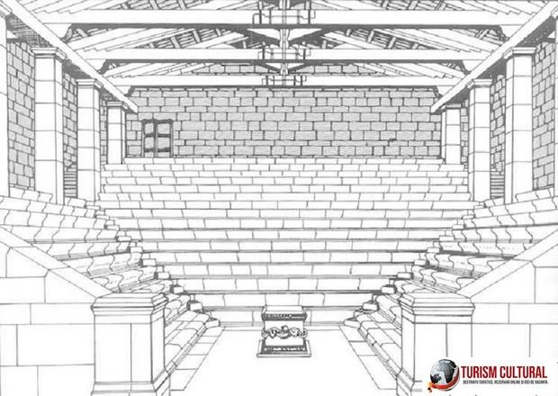 Turcia Priene bouleuterion reconstituire