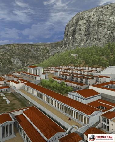 Turcia Priene centrul orasului antic
