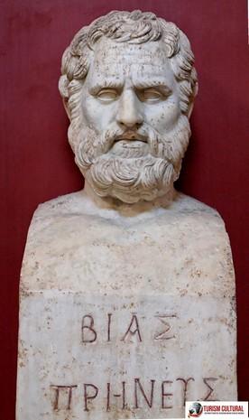 Turcia Priene filosoful Bias unul din inteleptii orasului