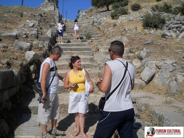 Turcia Priene intrarea in orasul antic